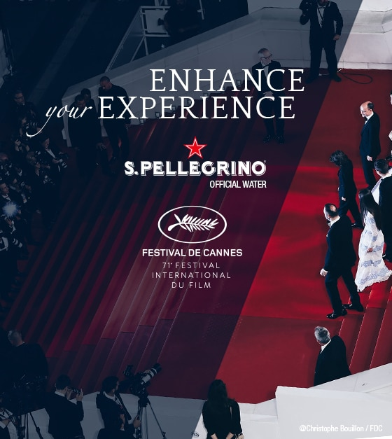 L'Instant S.Pellegrino at Cannes Film Festival