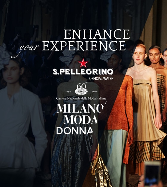S.PELLEGRINO SET TO SPARKLE AT MILAN FASHION WEEK