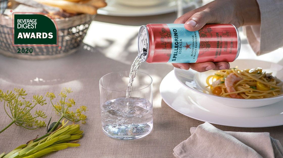 S.Pellegrino Essenza wins Beverage Digest Award 2020