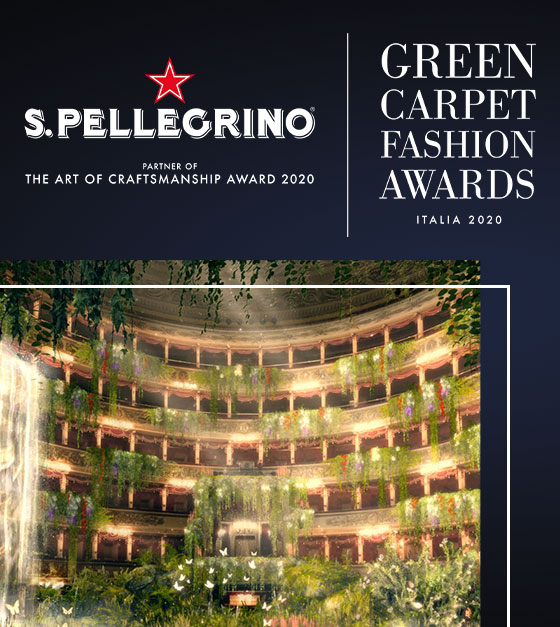 S.Pellegrino ist partner der Green Carpet Fashion Awards
