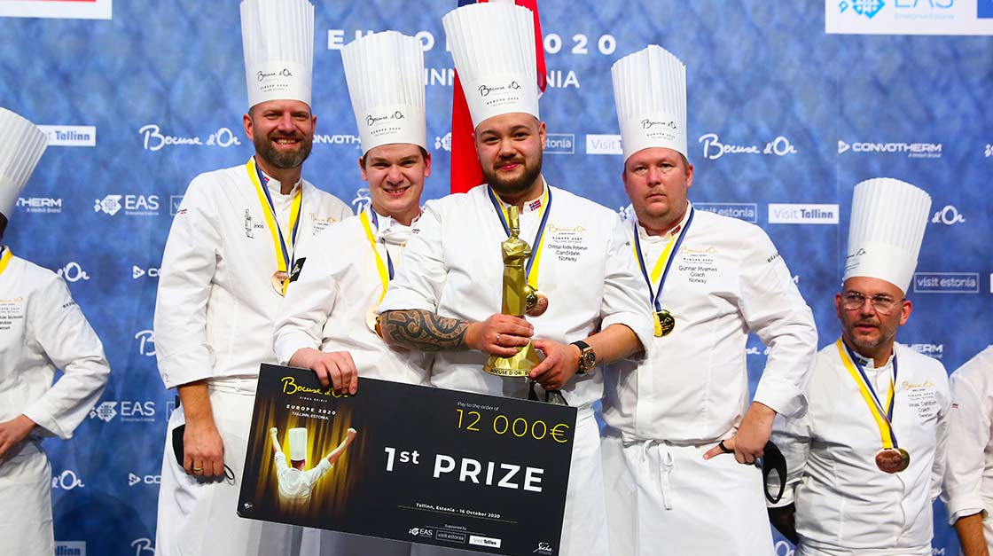 S.PELLEGRINO AU BOCUSE D'OR EUROPE 2020