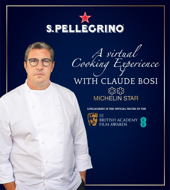 S.Pellegrino with two starred-Michelin chef Claude Bosi for a virtual cooking experience