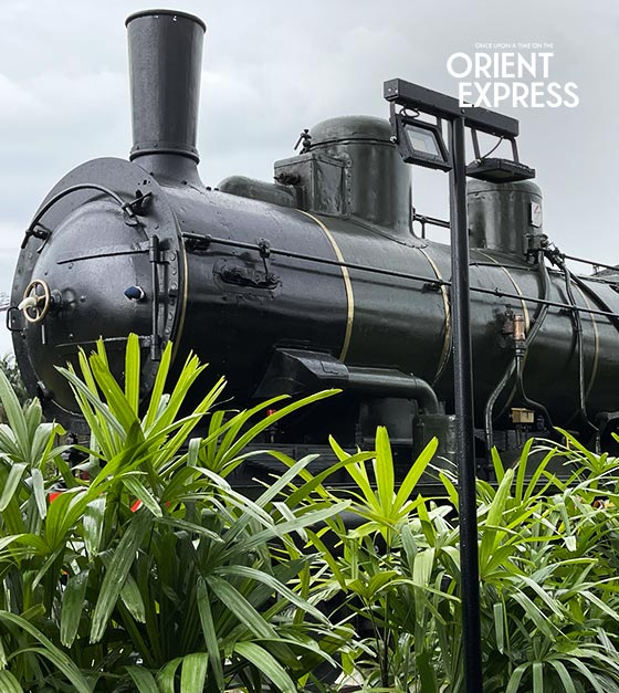 Orient Express train Exhibition in Singapore