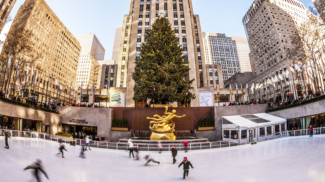 N.Y. Events: The Rink at Rokefeller Center