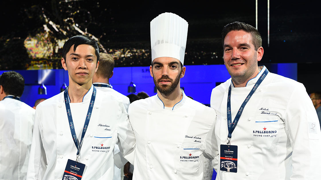 S.Pellegrino Young Chef 2015 3 finalists