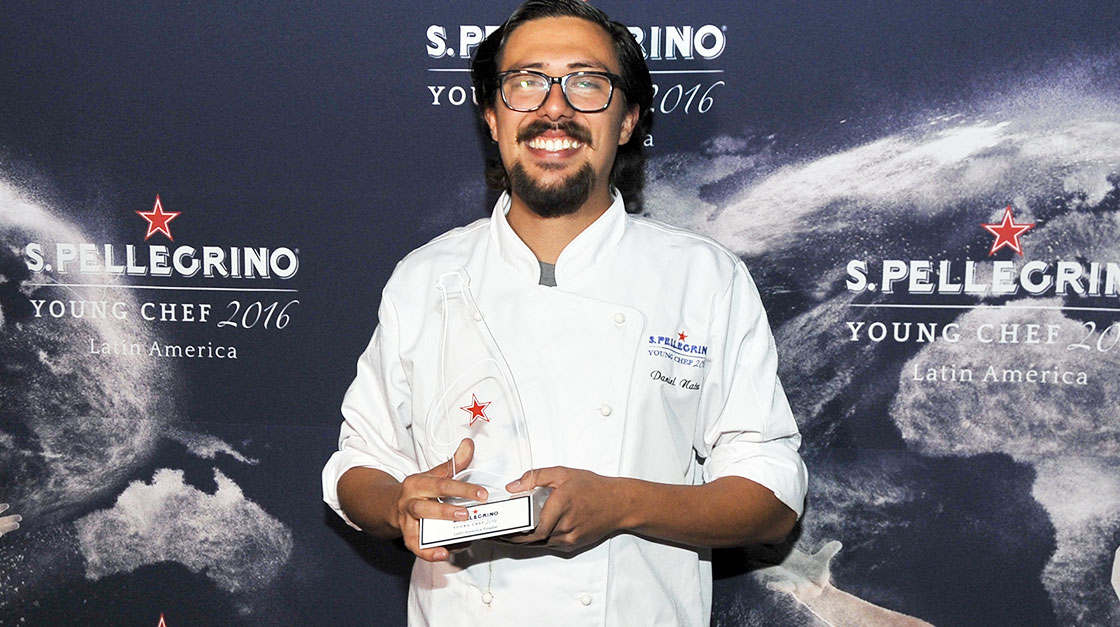 Daniel Nates Winner S.Pellegrino Young Chef