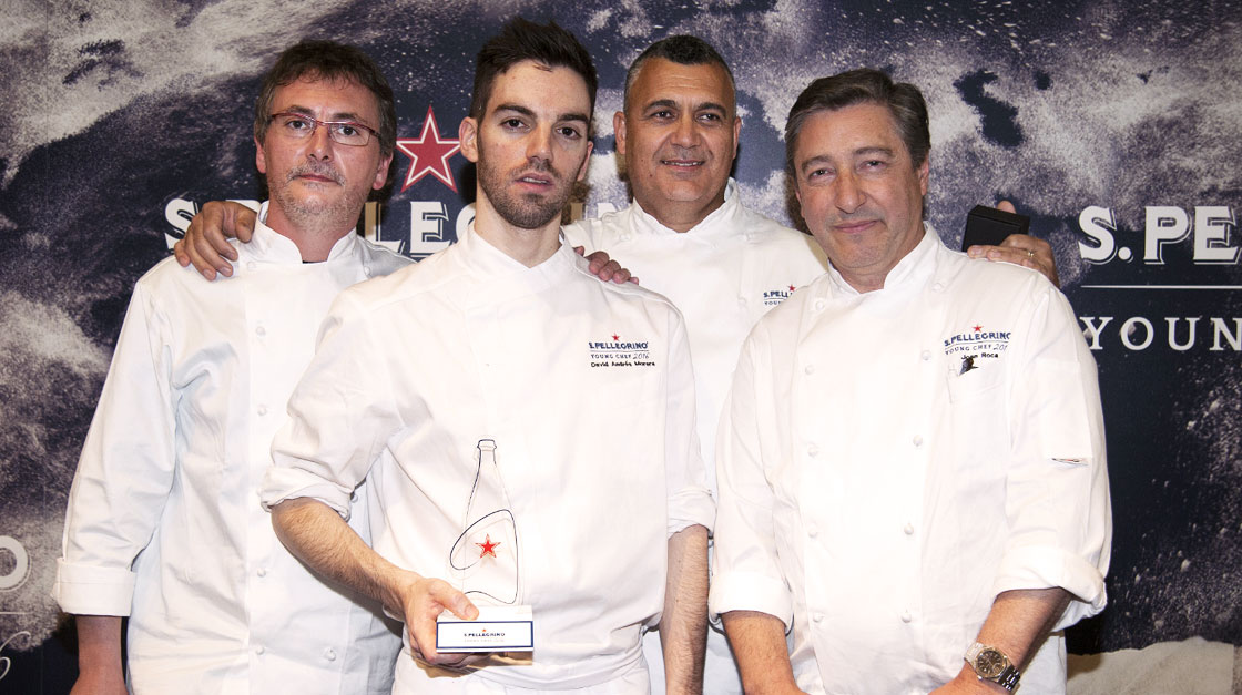 David Andrés will represent Spain and Portugal at S.Pellegrino Young Chef 2016
