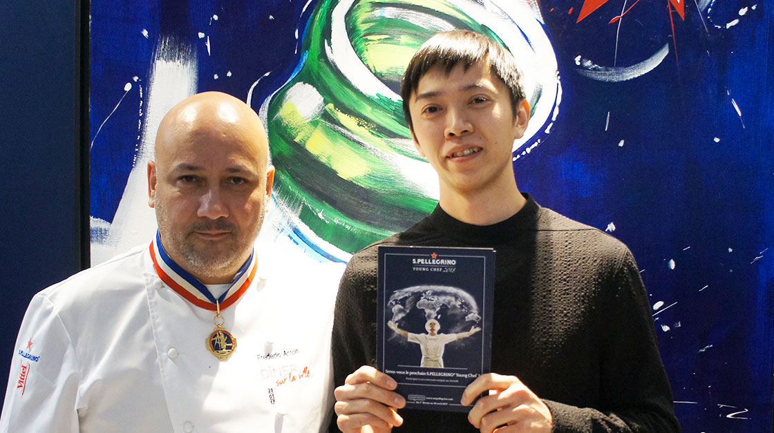 Chef Fréderic Anton & Young Chef Shintaro Awa