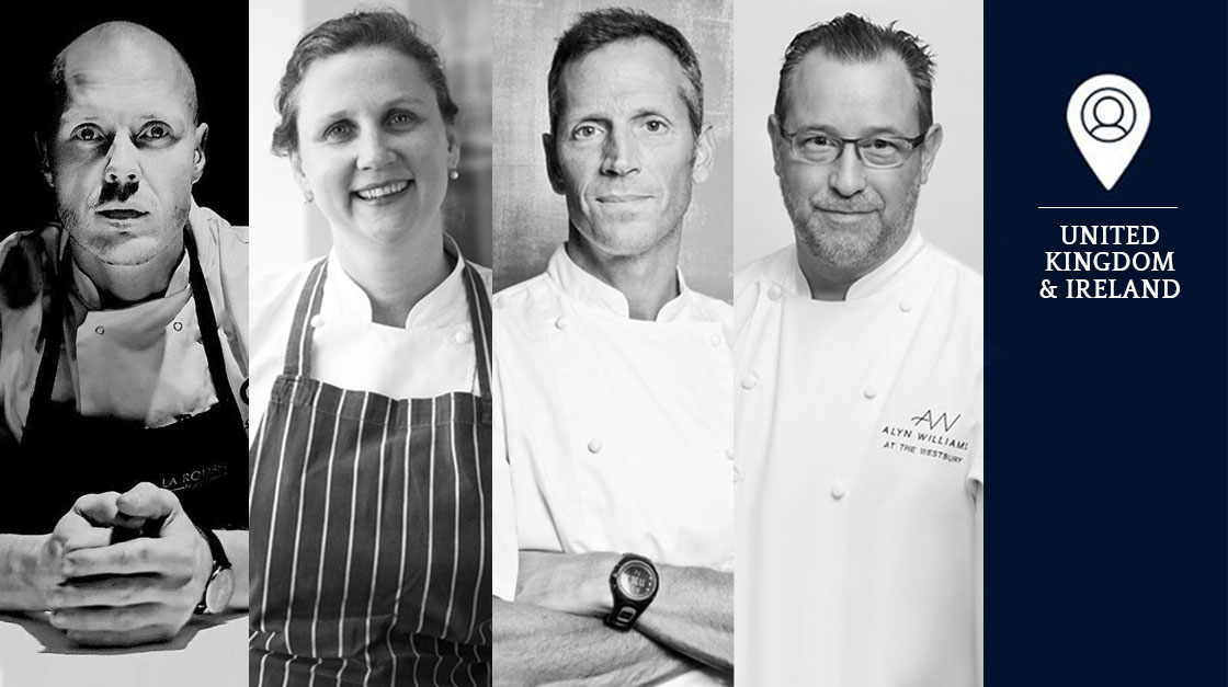 S.Pellegrino Young Chef 2018 UK & Ireland Jury