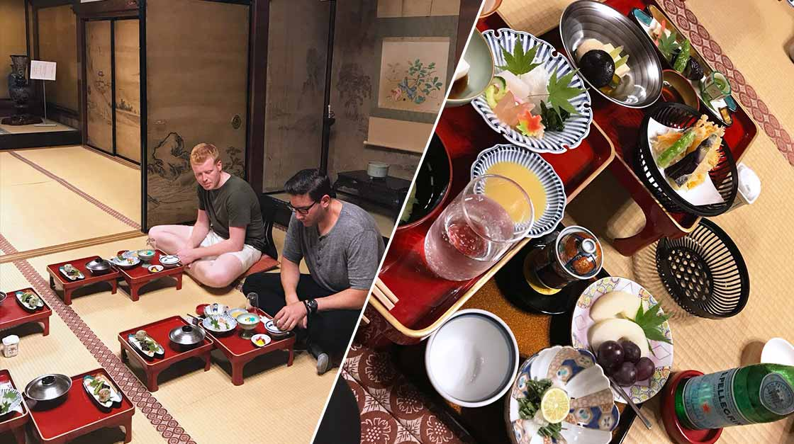 S.Pellegrino Young Chef's winners visiting Japan