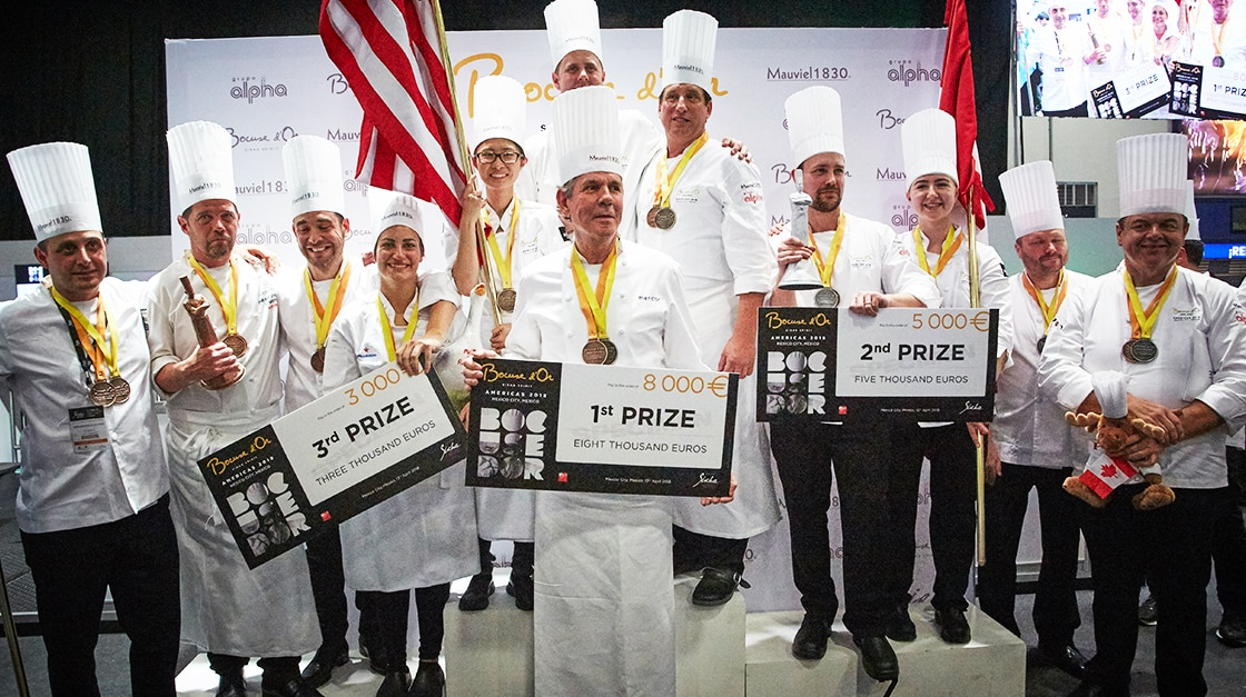 S.Pellegrino at Bocuse d'Or Americas 2018