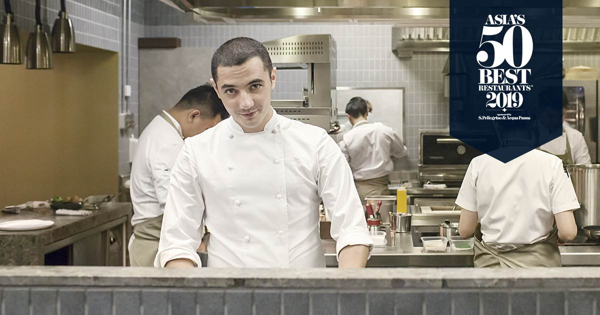 Le chef Julien Royer remporte Asia's 50 Best 2019