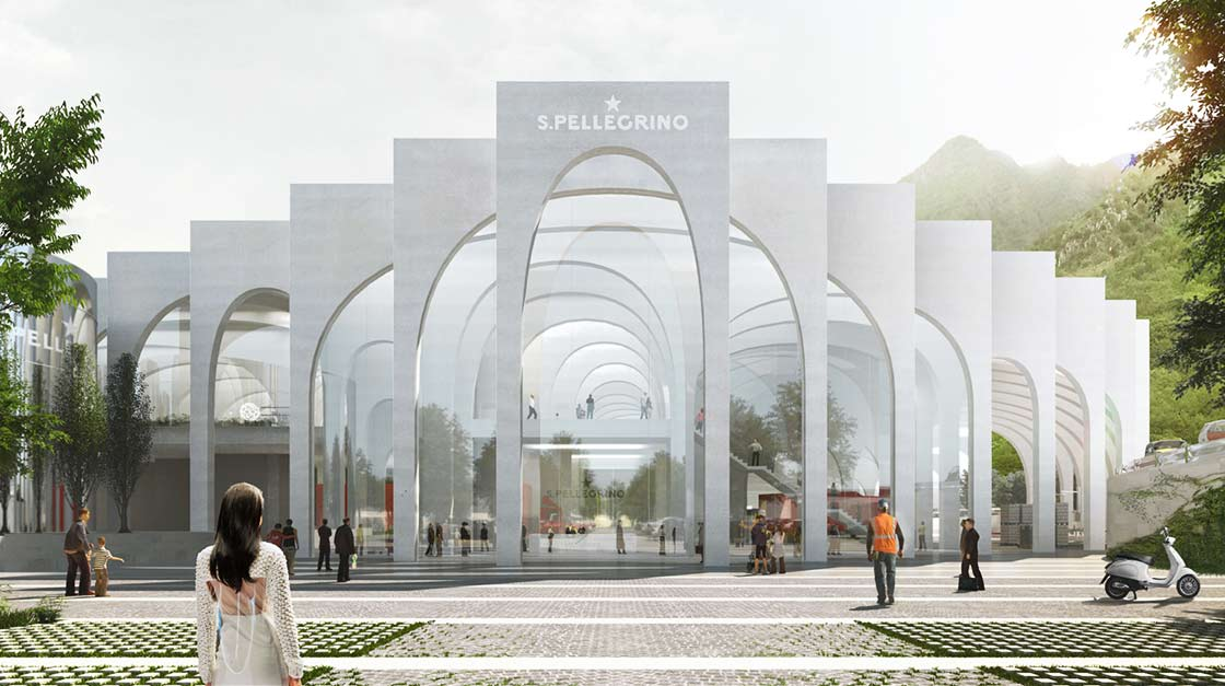 S.Pellegrino's new home is starting its journey