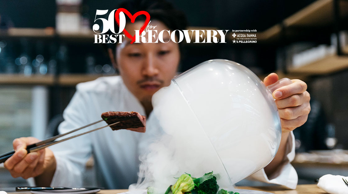 50 Best for Recovery : pour soutenir le secteur de la restauration