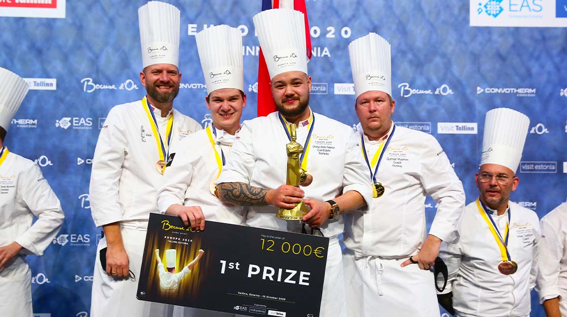 S.PELLEGRINO VED BOCUSE D'OR EUROPA 2020 FINALE