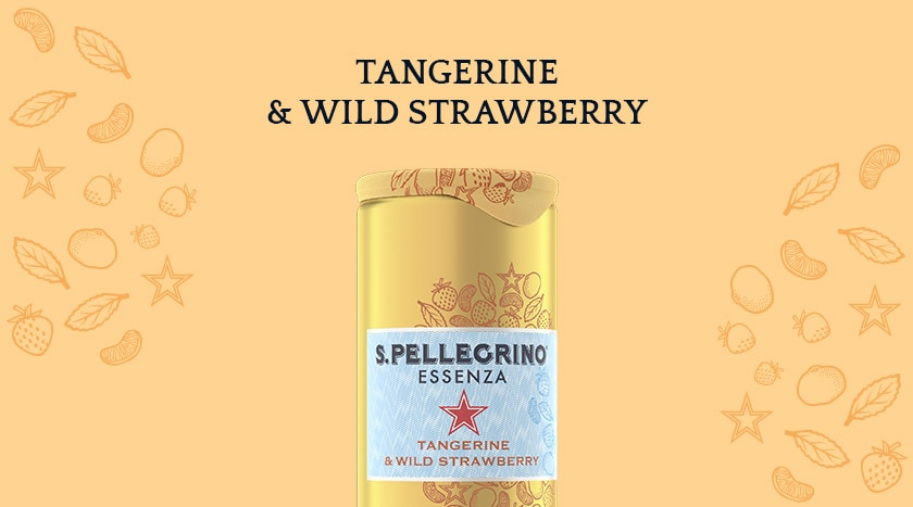 S.Pellegrino Essenza Tangerine & Wild Strawberry – Discover more