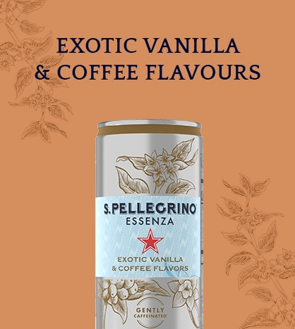 S.Pellegrino Essenza Exotic Vanilla & Coffee Flavours