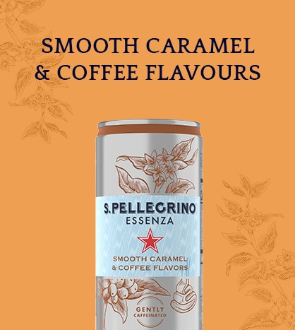 S.Pellegrino Essenza Smooth Caramel & Coffee Flavours