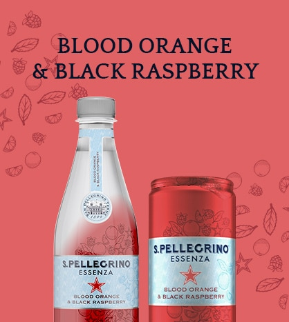 S.Pellegrino Essenza Blood Orange & Black Raspberry – Discover more