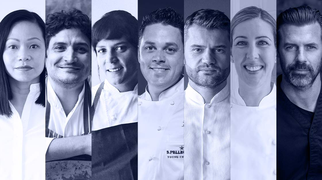 The jury of S.pellegrino Young Chef 2020