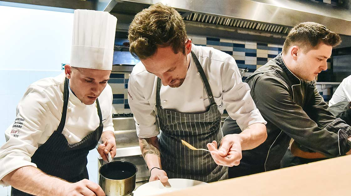 S.Pellegrino Young Chef 4th Edition Bucharest Launch