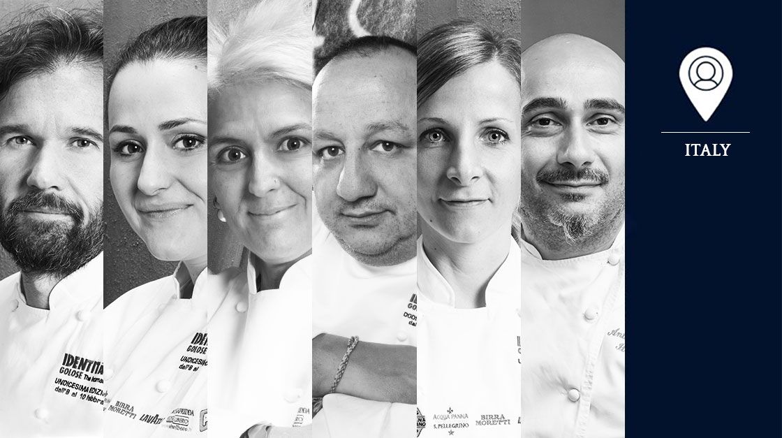 S.Pellegrino Young Chef 2018 Italy local jury