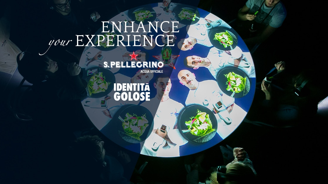 S.Pellegrino The Experience Table a Identità Golose