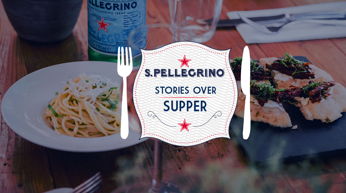 S.Pellegrino Stories over Supper