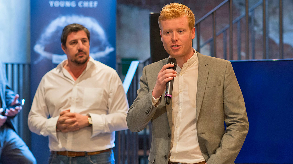 S.Pellegrino Young Chef 2015 Mark Moriarty