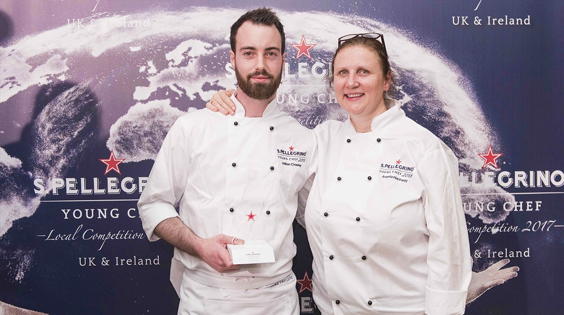 Killian Crowley is the winner of S.Pellegrino Young Chef UK & Ireland local final