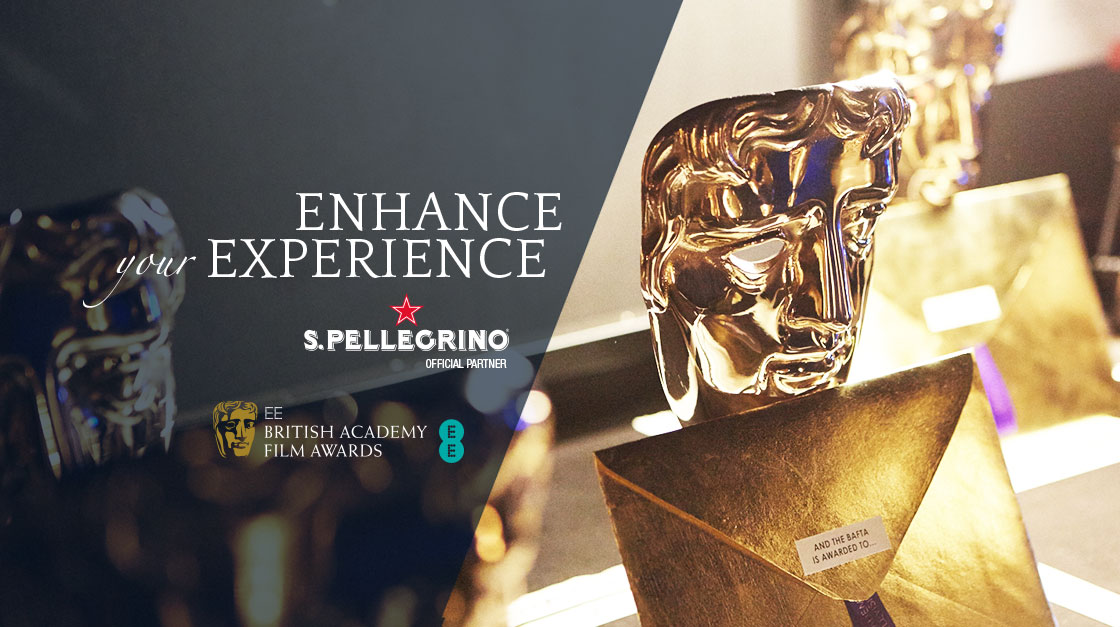S.Pellegrino is the official water of BAFTA