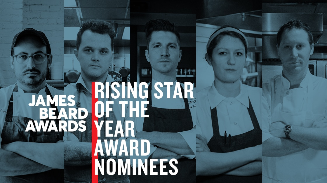 2017 James Beard Rising Star Chef of the Year nominees