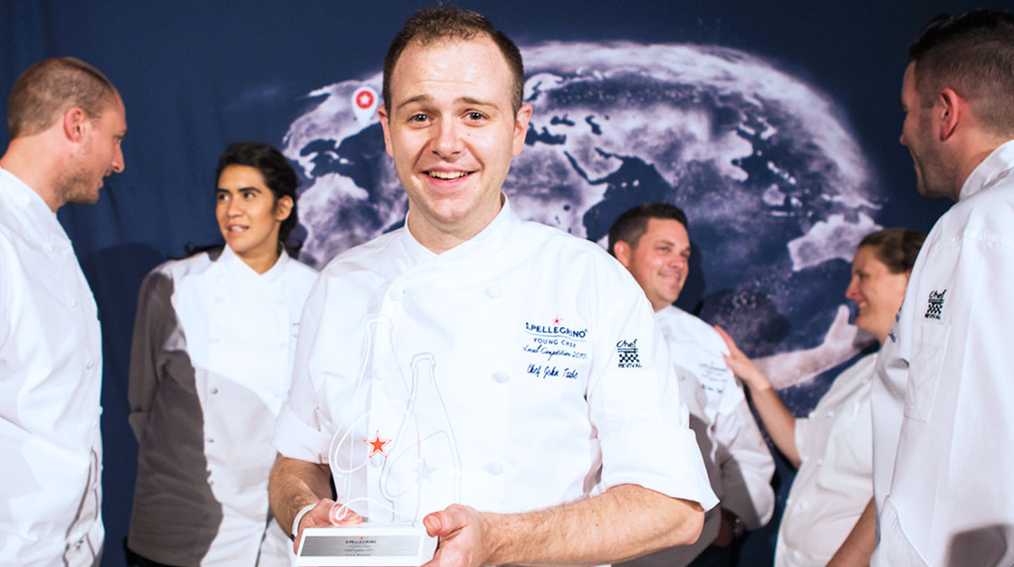 John Taube IV wins S.Pellegrino Young Chef Regional Final