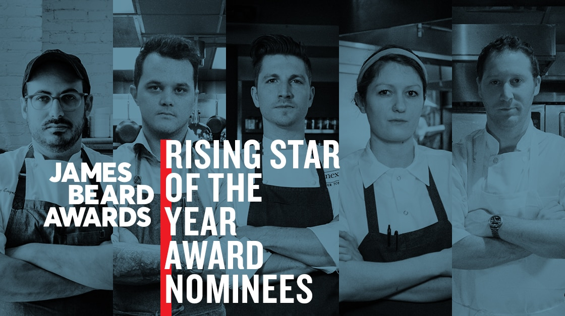 2017 James Beard Rising Star Chef of the Year Award nominees