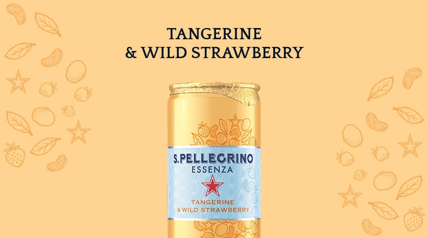 : S.Pellegrino® Essenza Tangerine & Wild Strawberry – Discover More
