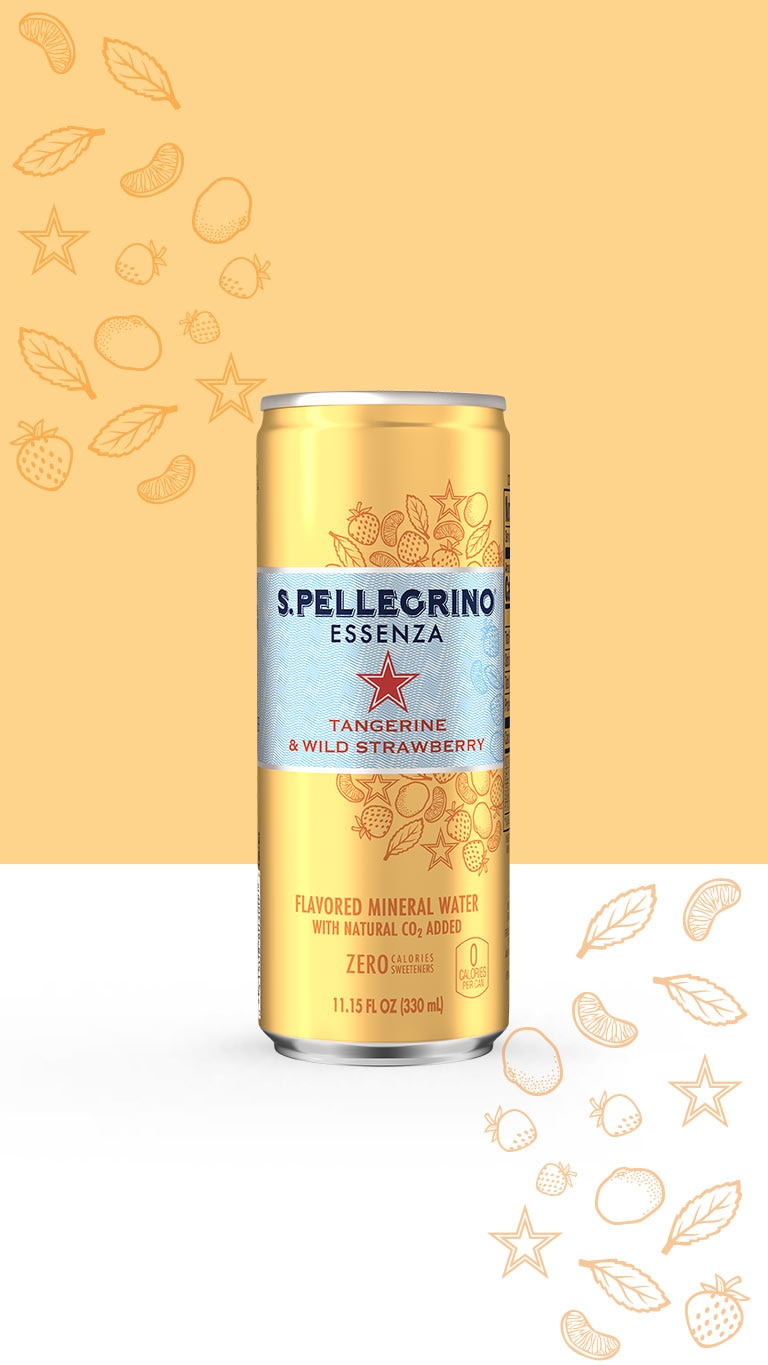 S.Pellegrino Essenza, Tangerine and Wild Strawberry flavor