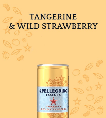 S.Pellegrino Essenza with Tangerine and Wild Strawberry