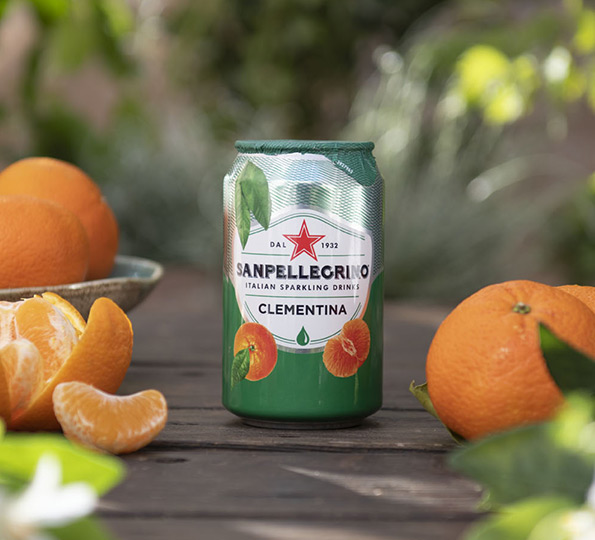 Sanpellegrino Clementina: southern Italy scent in a drink