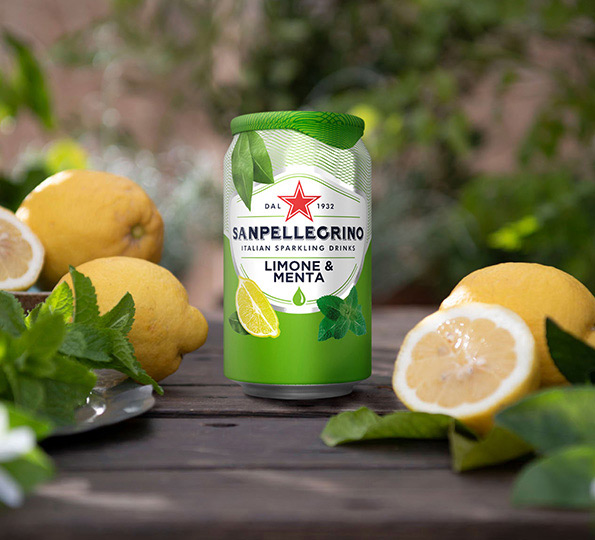 Sanpellegrino Limone & Menta: perfect balance between sour and sweet