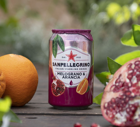 Sanpellegrino Melograno & Arancia: the perfect summer drink
