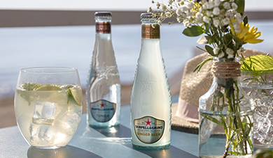 Sanpellegrino Ginger Beer with lime