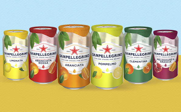 All Sanpellegrino traditional fruit drinks
