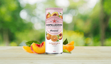 Momenti Clementine and Peach Flavour
