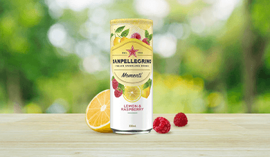 Momenti Lemon and Raspberry Flavour