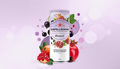 Sanpellegrino Momenti Pomegranate and Blackcurrant