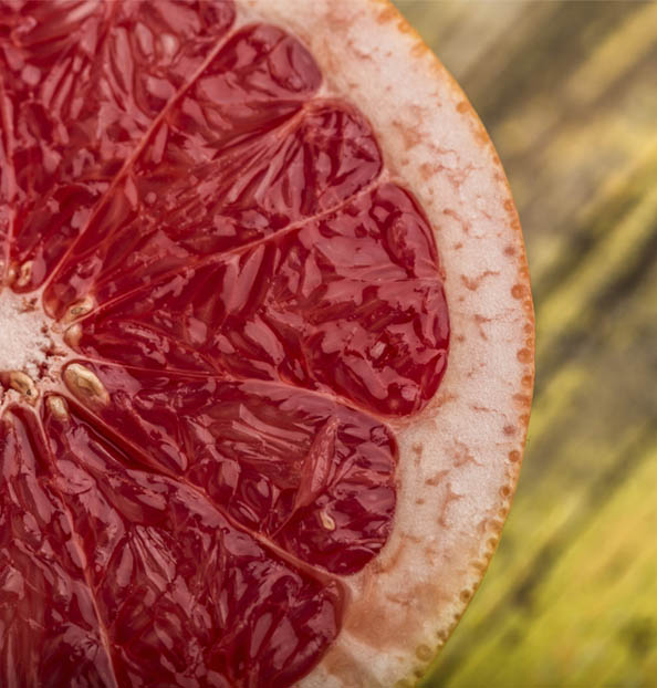 the pigmentation of blood oranges