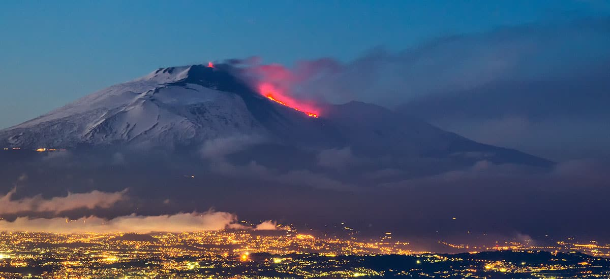 Etna erupts: reports from the Arcoria farm in Sicily