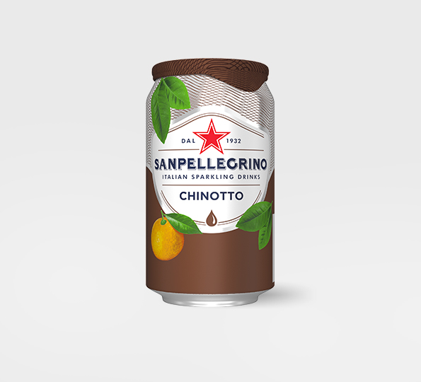 Sanpellegrino Chinotto – Can Front