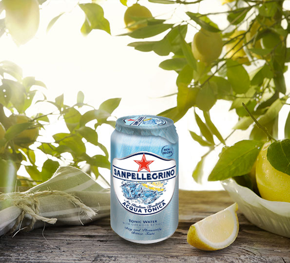 Sanpellegrino Tonic Water with Citric Notes