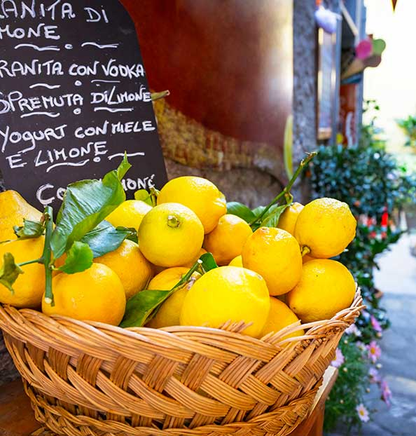 Italy is the perfect habitat for citrus fruits